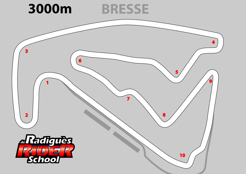 circuit de bresse pour moto au nord de lyon de radigu s rider school. Black Bedroom Furniture Sets. Home Design Ideas